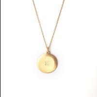 Xtellar - Sun Necklace - Gold Plated Brass