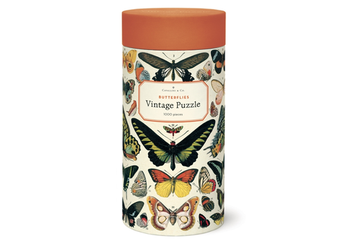 Cavallini Papers & Co Cavallini - Butterflies - 1000 Piece Puzzle