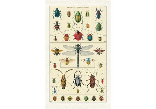 Cavallini Papers & Co Cavallini - Insects - Tea Towel