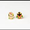 Yellow Owl Workshop Yellow Owl Workshop - Frida Kahlo Milagro - Earrings