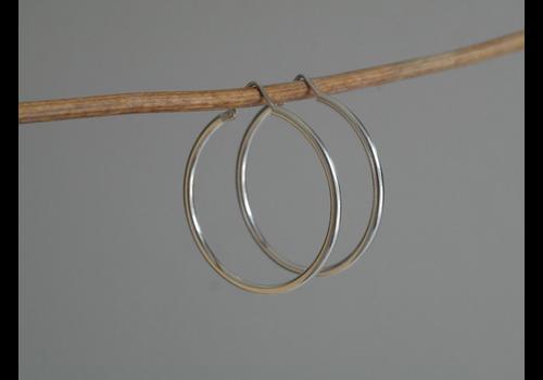 Âme Jewels Ame Jewels - 35mm Hoop  Earrings