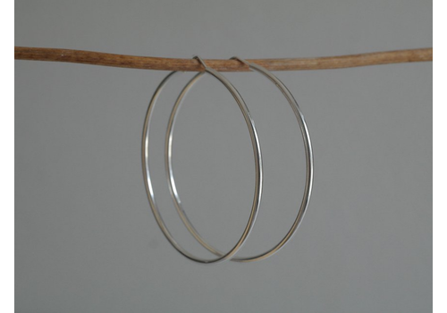 Âme Jewels Ame Jewels - 58mm Hoop Earrings