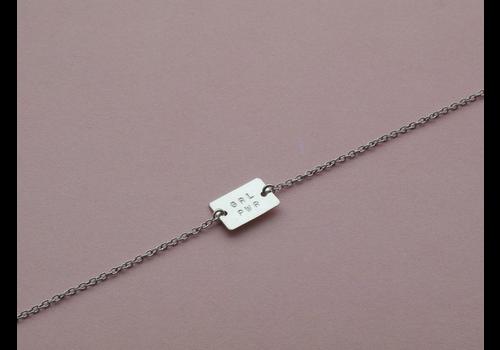Âme Ame Jewels - GRL PWR - Silver Bracelet