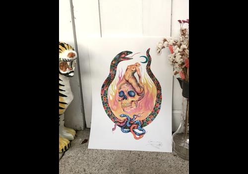 Hanako Mimiko Hanako Mimiko - Transmutar - Print