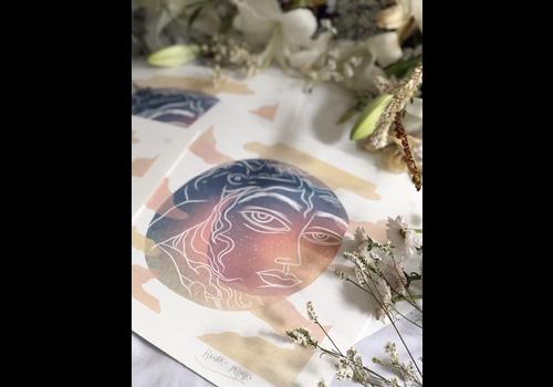 Hanako Mimiko Hanako Mimiko - Luna 2020 - A3 Print
