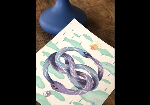 Hanako Mimiko Hanako Mimiko - Auryn (Color) - Print