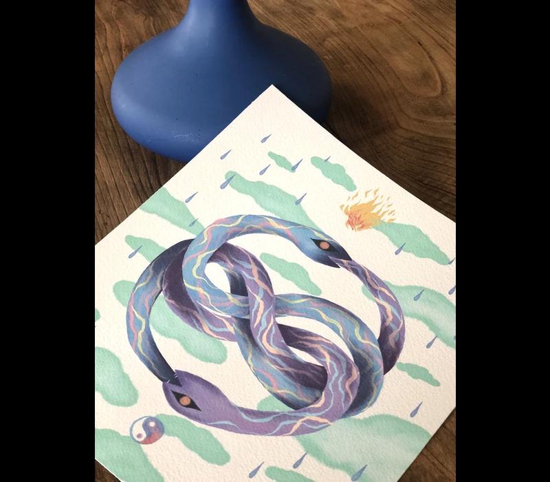 Carmen Seijas  - Auryn (Color) - Print