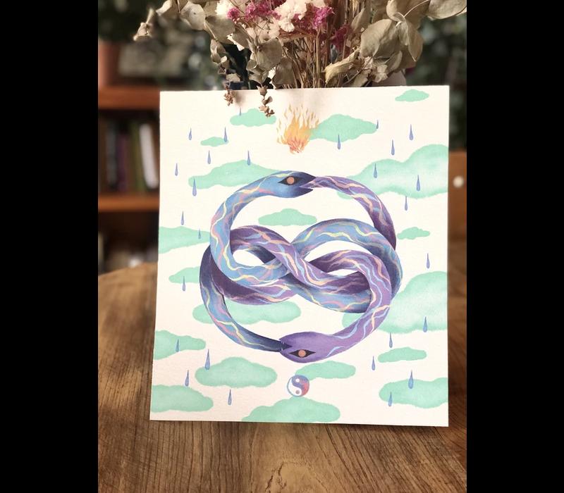 Hanako Mimiko - Auryn (Color) - Print
