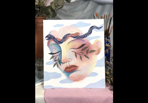 Hanako Mimiko Hanako Mimiko - Find Piece of Mind - Print