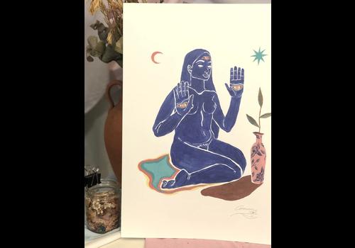Hanako Mimiko Hanako Mimiko - The Room - Print