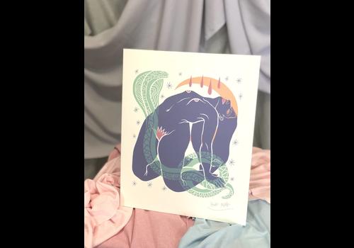 Hanako Mimiko Hanako Mimiko - Hipnosis - Print