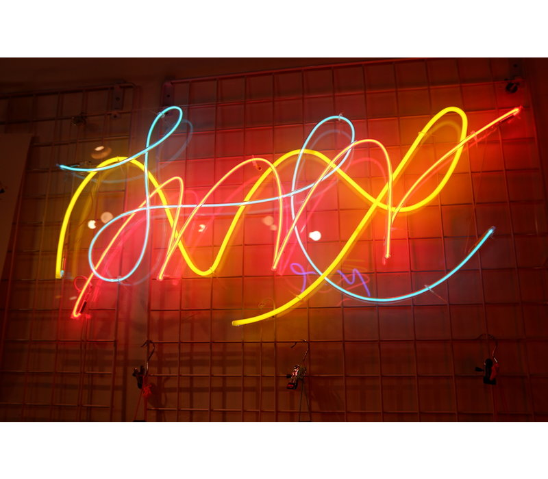 Ferran Capo - Neon Art Piece - Large