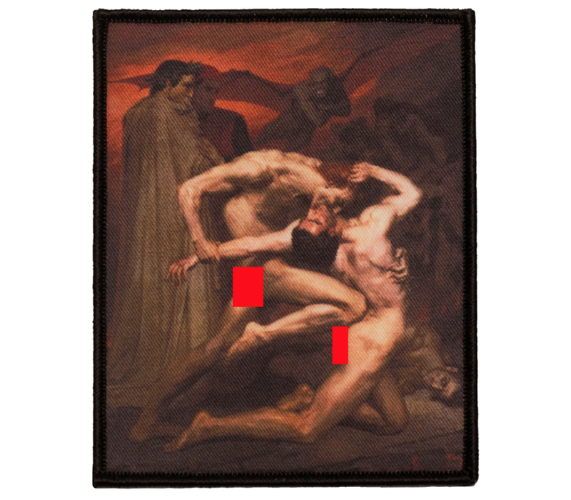 Inner Decay - Dante and Virgil in Hell - Patch