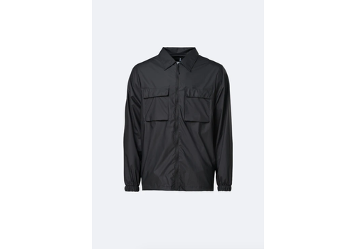 Rains Rains - Ultra Light Zip Jacket - Black