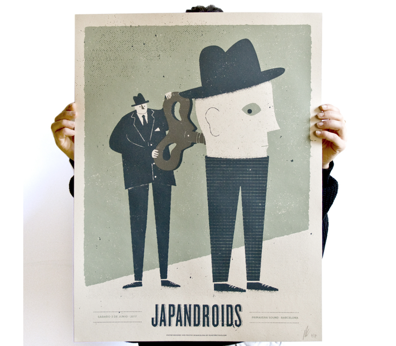 Münster - Japandroids - Screen Print