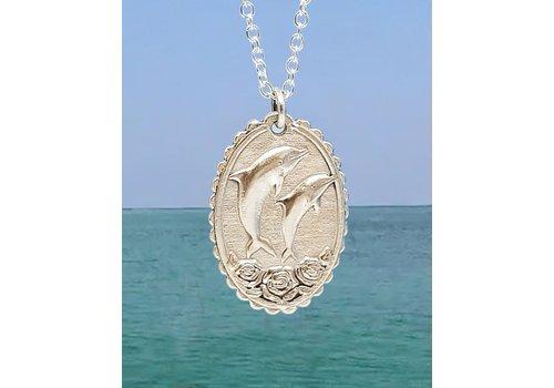 Xtellar Xtellar - Dolphin Necklace - Silver