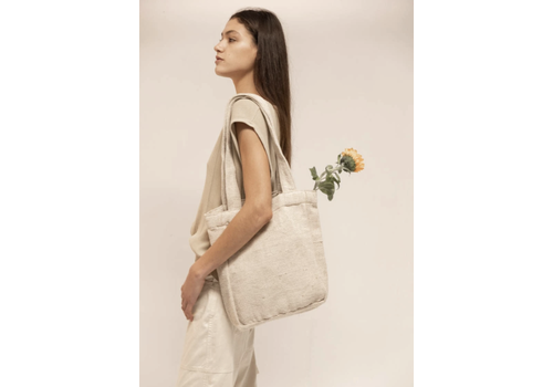 Hemper Hemper - Mera Lisa Tote bag - White