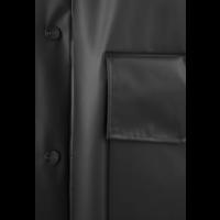 Rains - Transparent Hooded Coat - Foggy Black
