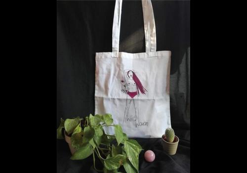 Anasa Anasa - Wild Woman (Panther)- Tote Bag