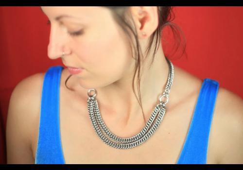 Monstera Jewelry Monstera Jewelry - Double HP Necklace