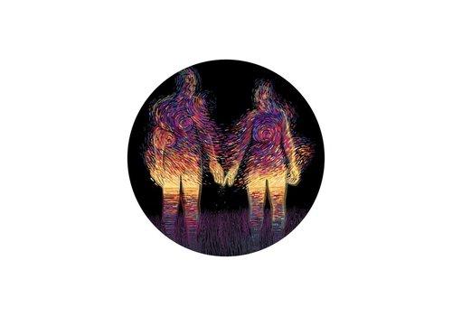 James R. Eads Prisma Visions - Sunset Sticker
