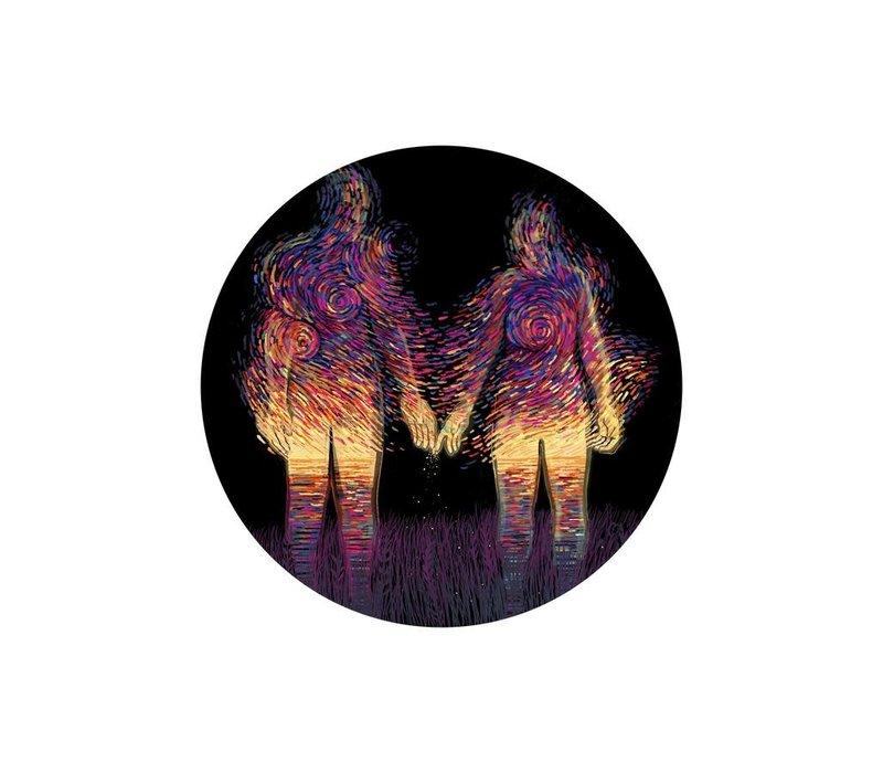 Prisma Visions - Sunset Sticker