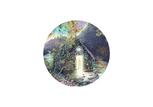 Prisma Visions James R. Eads - Waterlily House - Sticker