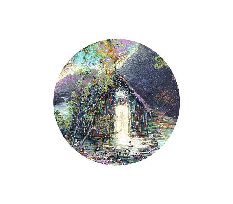 James R. Eads - Waterlily House - Sticker