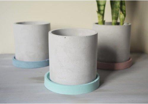 Delfinis Design Definis Design - Normal Planter with Plate