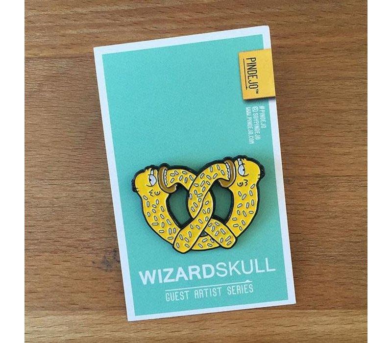 Pindejo -Infinite Pretzel by Wizard Skull- Pin