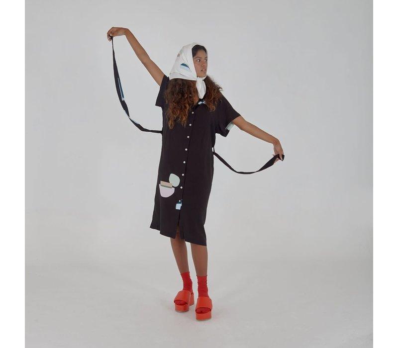 Santa e Nuvem  - Chemise Midi Pacova - Dress