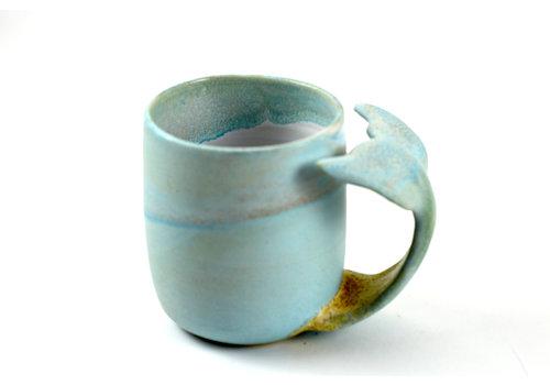 Annick Galimont Annick Galimont - Whale Mug - Sky Blue