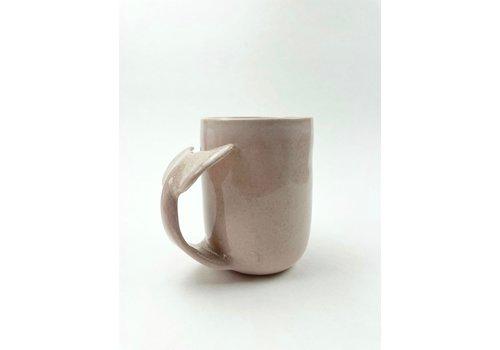 Annick Galimont Annick Galimont - Whale Mug - Soft Pink
