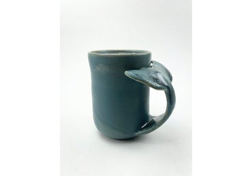 Annick Galimont Annick Galimont - Whale Mug Teal