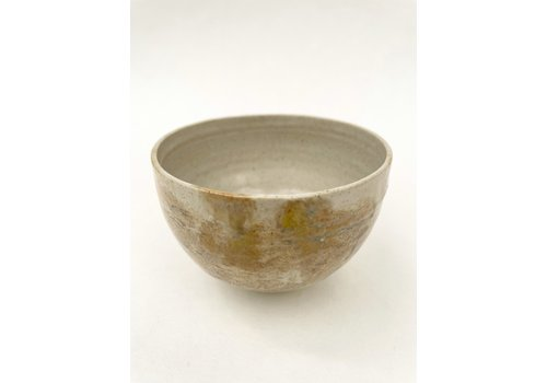 Selva Selva - Raku bowl- Cream III