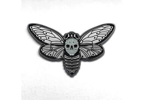Bird Ov Prey Bird Ov Prey - Death's Head Cicada Pin
