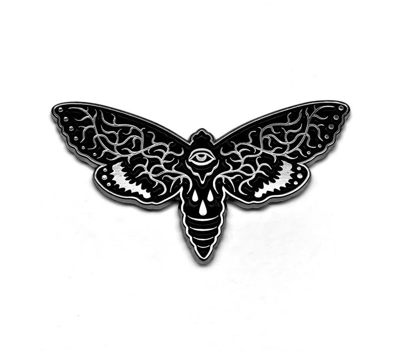 Bird Ov Prey - Vein Moth Pin