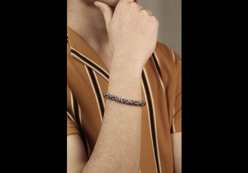 Monstera Jewelry Monstera Jewelry -Byzantine Single-row Bracelet