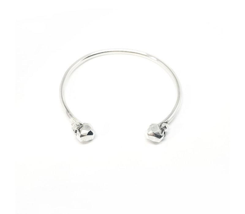 Xtellar - Skull Bracelet - Silver