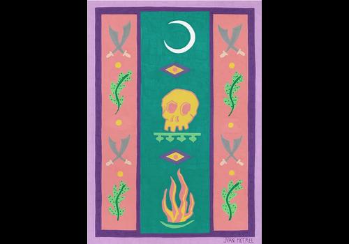 Juan Motrel Juan Motrel  - Noche en el Diesierto - Print