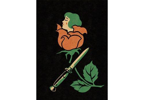 El Marquès El Marquès - Rose Blade - A3 Risograph