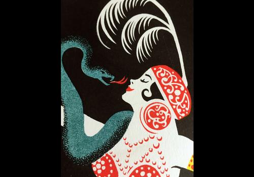 El Marquès El Marques - The Snake Charmer - Digital Print