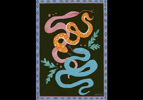 Juan Motrel Juan Motrel  - Snakes - Print