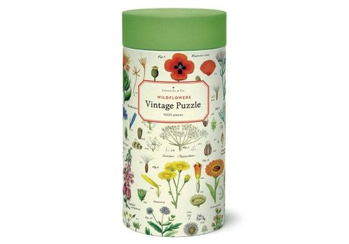 Cavallini Papers & Co Cavallini - Wildflowers - 1000 Piece Puzzle