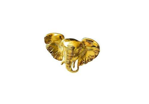 Michi Roman Michi Roman - Elephant Ring - Gold plated Silver