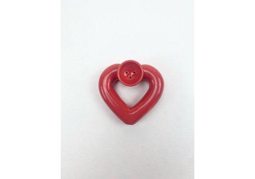 RompoTodo Rompotodo - Santan's Heart Pipe - Red