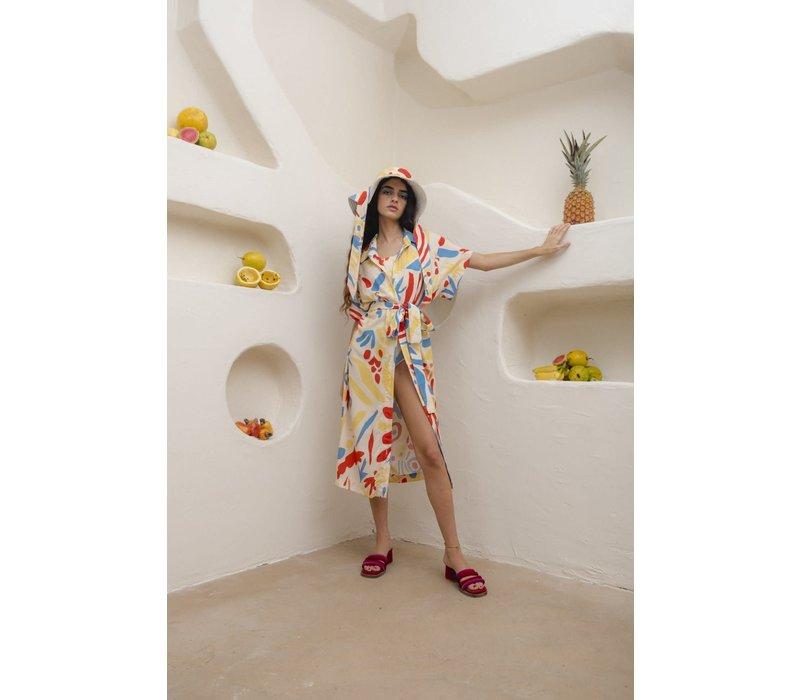 Santa e Nuvem  - Chemise Tropicalia - Dress