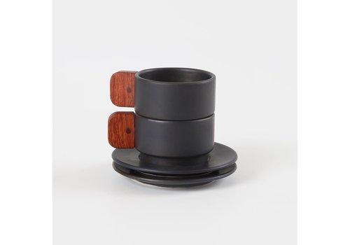 Matimanana Matimañana - Espresso Set  Black
