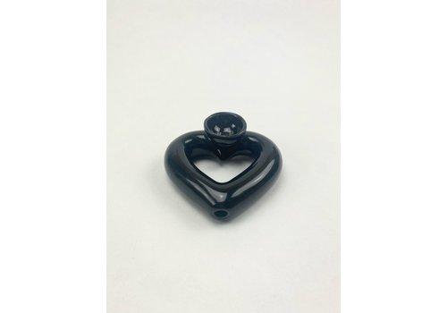 RompoTodo Rompotodo - Santan's Heart Pipe - Black