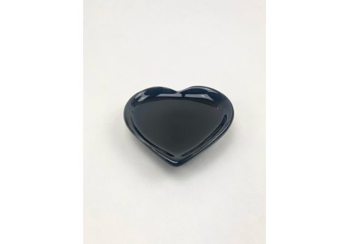 RompoTodo Rompotodo - Santan's Heart Plate - Black